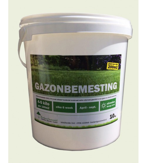 Gazonbemesting-10kg